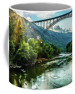 Coffee Mug featuring the photograph Let Your Light Shine by Thomas R Fletcher