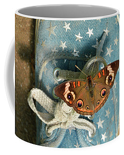 Let Your Spirit Fly Free- Butterfly Nature Art Coffee Mug