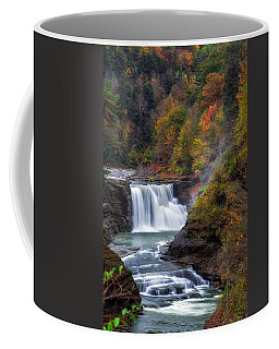 Letchworth Lower Falls 3 Coffee Mug