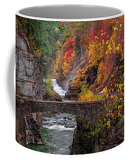 Letchworth Lower Falls Coffee Mug