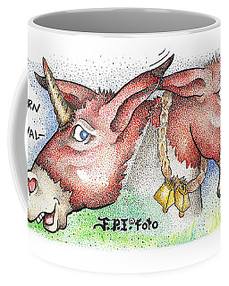 Let's Bray Fpi Cartoon Coffee Mug
