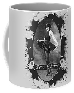Coffee Mug featuring the digital art Lets Dance by Robert G Kernodle