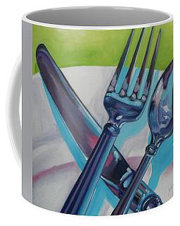 Let's Eat Coffee Mug