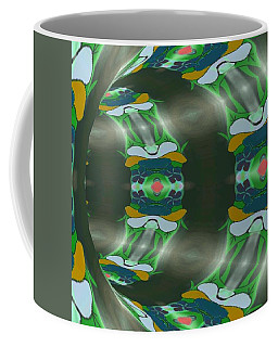 Let's Get Around It Abstract  Coffee Mug