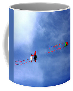 Let's Go Fly 2 Kites Coffee Mug