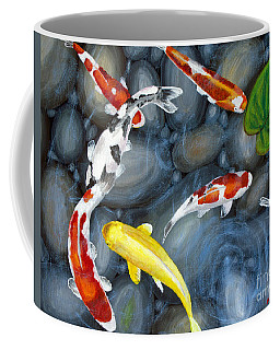 Let's Go Swimming Coffee Mug