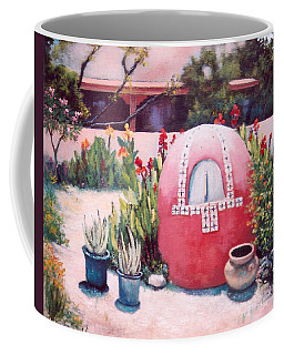 Coffee Mug featuring the painting Let's Make Bread by M Diane Bonaparte