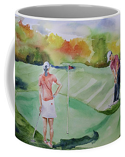 Let's Play Golf Coffee Mug