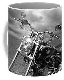 Coffee Mug featuring the photograph Let's Ride - Harley Davidson Motorcycle by Gill Billington