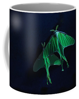 Coffee Mug featuring the photograph Let's Swim To The Moon by Susan Capuano