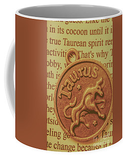 Letter Of Zodiac Taurus Coffee Mug