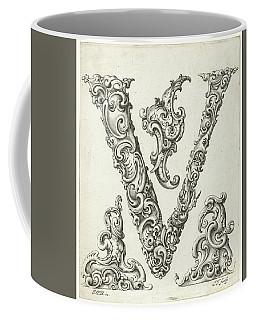 Letter V Coffee Mug