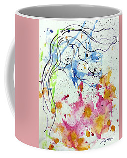 Letting Go Coffee Mug by Julie Hoyle
