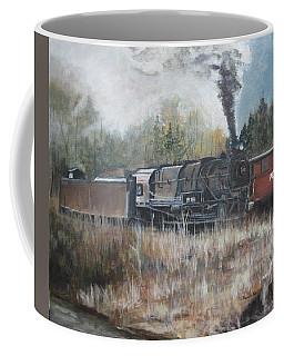 Letting Off Steam Coffee Mug