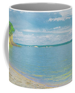 Lewis And Clark Lake Coffee Mug