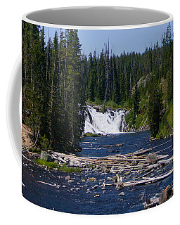 Lewis Falls Yellowstone Coffee Mug