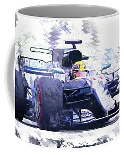 Lewis Hamilton Coffee Mug