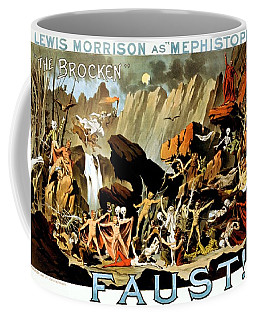 Lewis Morrison As Mephistopheles In Faust, Performance Poster, Ca. 1887 Coffee Mug
