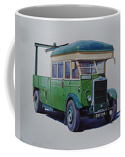 Leyland Southdown Wrecker. Coffee Mug by Mike Jeffries