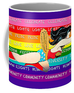 Lgbtq Wonder Women Coffee Mug
