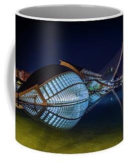L'hemisferic In Valencia Coffee Mug