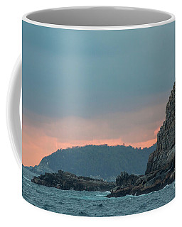 Coffee Mug featuring the photograph L'heure Bleue, by Ana Mireles