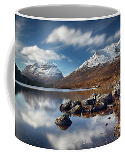 Coffee Mug featuring the photograph Liathach by Grant Glendinning