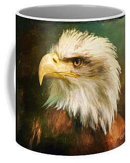 Liberty And Justice Coffee Mug by Tina LeCour