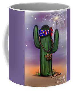 Arizona 4th Of July Coffee Mug