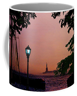 Liberty Fading Seascape Coffee Mug by Steve Karol