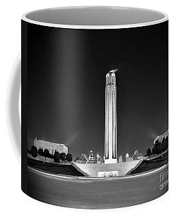 Liberty Memorial In Kansas City Bw Coffee Mug