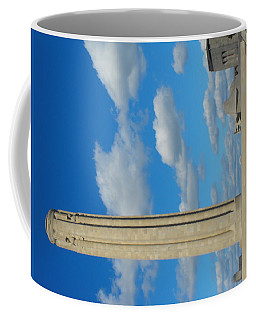 Liberty Memorial On A Perfect Day Coffee Mug
