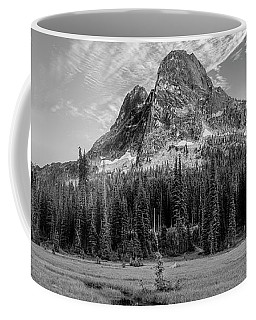 Coffee Mug featuring the photograph Liberty Mountain At Sunset by Jon Glaser