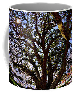 Coffee Mug featuring the photograph Liberty Oak Harbour Town Hilton Head Sc by Lisa Wooten