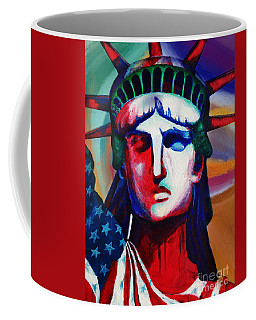 Liberty Of Statue New York 98jhm Coffee Mug by Gull G