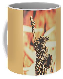 Liberty Will Enlighten The World Coffee Mug