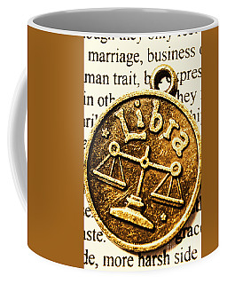 Libra Star Sign Coffee Mug