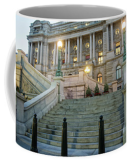 Coffee Mug featuring the photograph Library Of Congress by Greg Mimbs