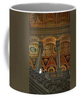 Library Of Congress Staircase Coffee Mug