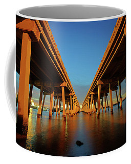 Licata Bridges In Tampa Coffee Mug