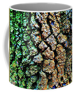 Lichen On Tree Bark Coffee Mug
