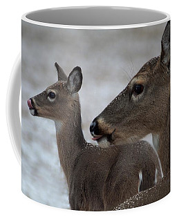 Licking Snowflakes Coffee Mug