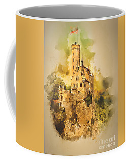 Liechenstein Castle Coffee Mug by Jack Torcello