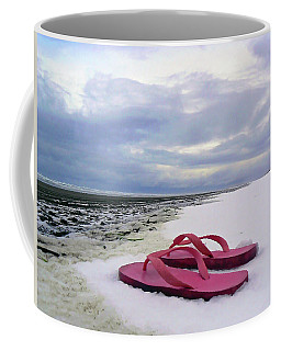 Life Can Be A Beach  Coffee Mug
