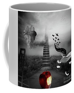 Life Is A Stage Coffee Mug by Mo T