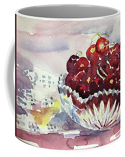 Life Is Just A Bowl Of Cherries Coffee Mug
