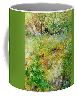 Coffee Mug featuring the painting Life Lessons by Judith Rhue