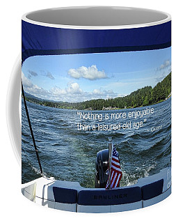 Coffee Mug featuring the photograph Life Of Leisure by Peggy Hughes