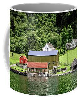 Life On A Fjord Coffee Mug