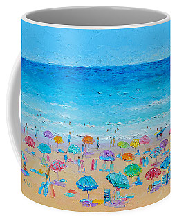 Life On The Beach Coffee Mug by Jan Matson